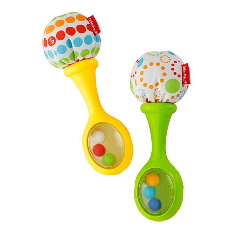 image from Fisher-Price Rattle and Rock Maracas Musical Toy